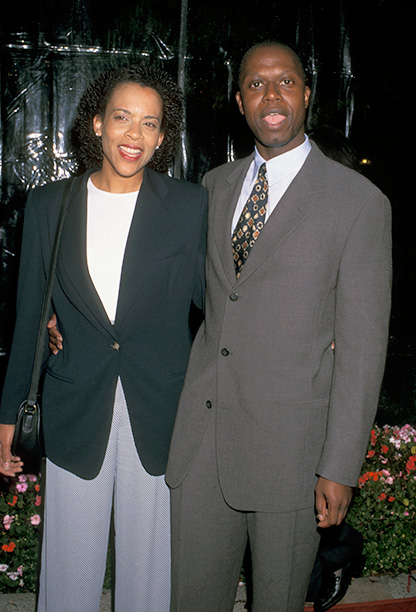 Ami Brabson and Andre Braugher