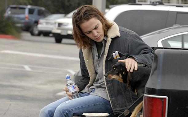 Taylor Kitsch as Tim Riggins on December 7, 2009