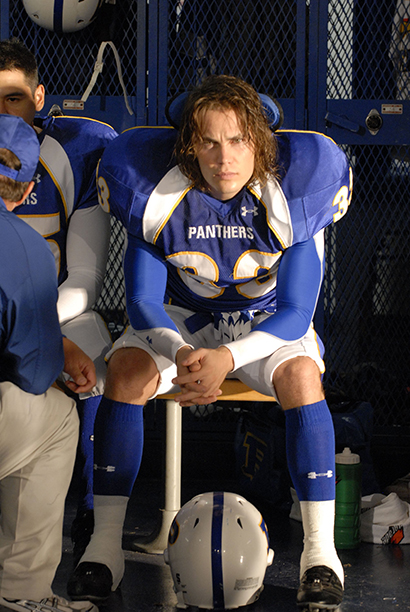 Taylor Kitsch as Tim Riggins on October 24, 2008