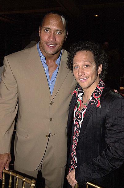 Dwayne Johnson and Rob Schneider