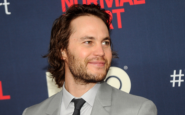 Taylor Kitsch on May 12, 2014