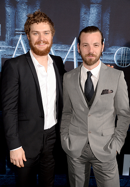 Finn Jones and Gethin Anthony