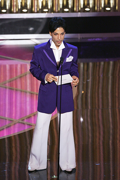 Prince at the 77th Annual Academy Awards on February 27, 2005