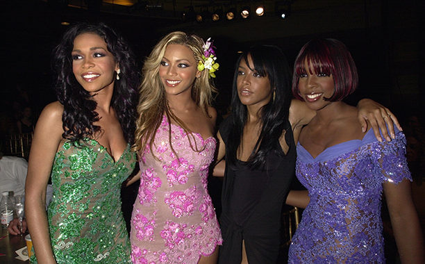 Michelle Williams, Beyonce, Aaliyah, and Kelly Rowland