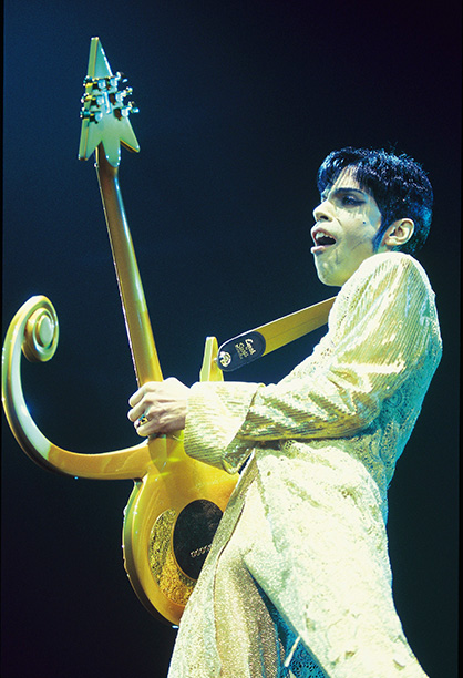 Prince Performing on March 1, 1995
