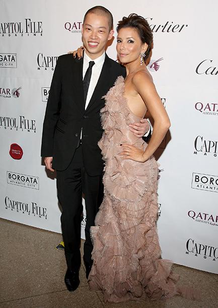 Jason Wu and Eva Longoria