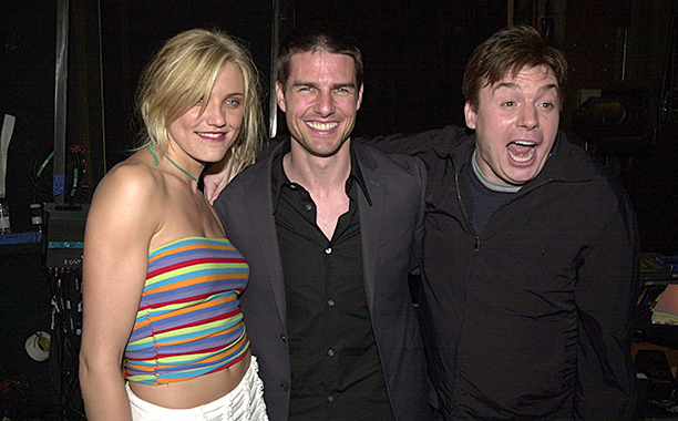 Cameron Diaz, Tom Cruise, and Mike Myers