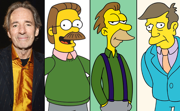 Harry Shearer Voices Ned Flanders, Lenny, and Principal Skinner