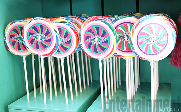 Lollipops at Honeydukes