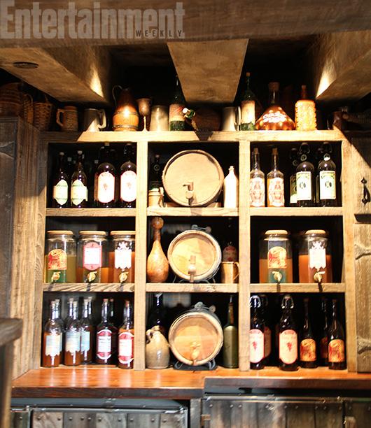 Beer at The Hog's Head Pub
