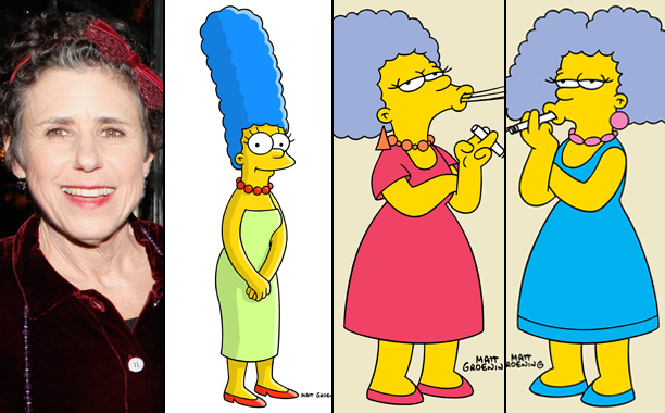 Julie Kavner Voices Marge Simpson, Patty Bouvier, and Selma Bouvier