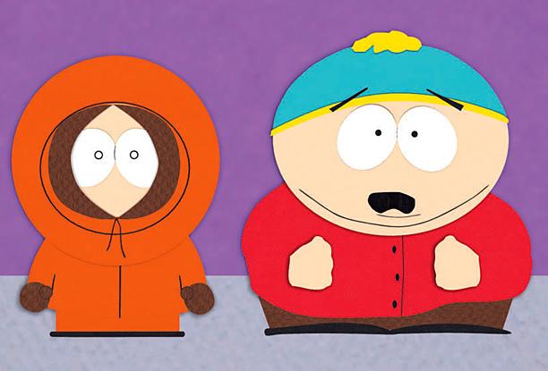 Eric Cartman and Kenny McCormick, 'South Park'