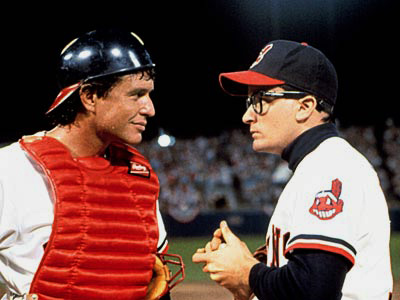 Tom Berenger, Charlie Sheen, ... | RICK ''WILD THING'' VAUGHN PLAYED BY Charlie Sheen MOVIE Major League (1989) POSITION Pitcher TEAM The Cleveland Indians, here a group of broken-down misfits (including…