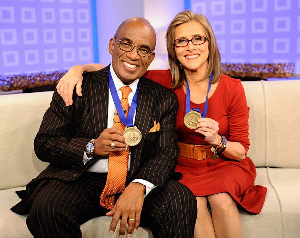 Al Roker and Meredith Vieira
