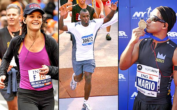 Celebrities Who Ran the Marathon