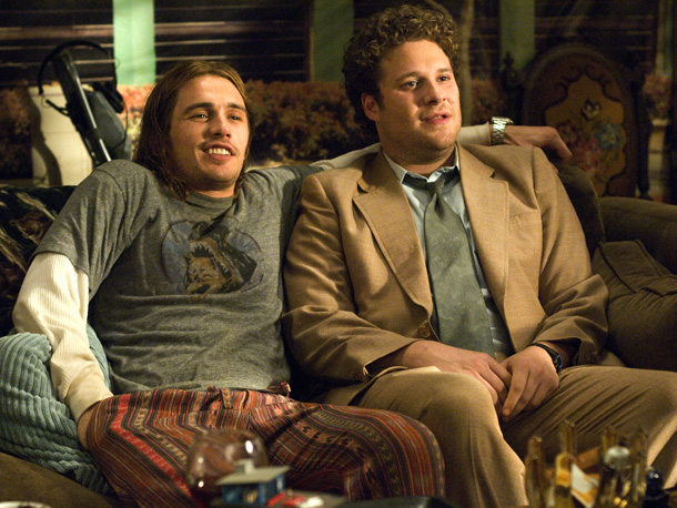 Pineapple Express | In what might be the only stoner action movie, two unlikely doobie brothers, process server Dale (Seth Rogen) and groovy dealer Saul (James Franco), bond…