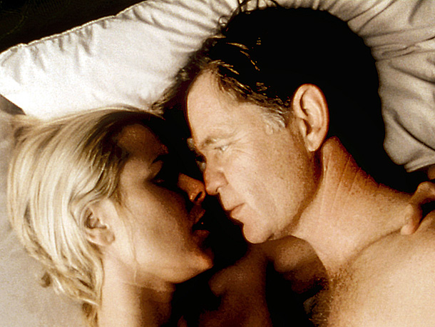Maria Bello, William H. Macy, ... | Pubic hair. Mario Bello's pubic hair. That — and the hint of female pleasure — is what landed this Vegas drama, about a walking bad-luck…