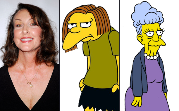Tress MacNeille Voices Dolph and Agnes Skinner