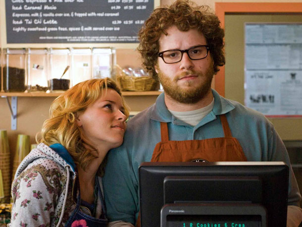 Seth Rogen, Elizabeth Banks, ... | Reportedly, the ratings board wasn't happy with a couple of sex scenes featuring Kevin Smith regular Jason Mewes and former pornographic actress Katie Morgan. After…