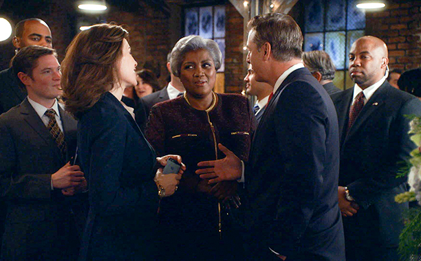 Donna Brazile on The Good Wife in 2011, 2012, and 2013