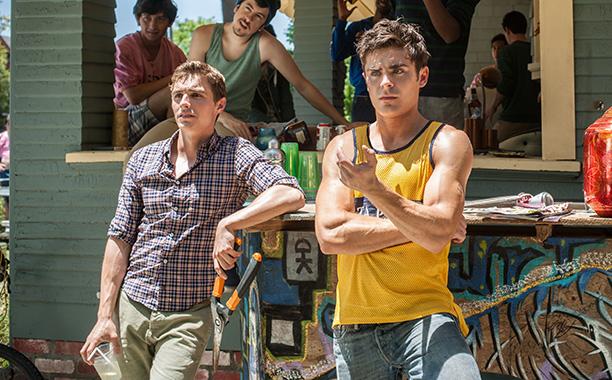 Teddy Sanders (Zac Efron) and Pete Regazolli (Dave Franco) in 'Neighbors'