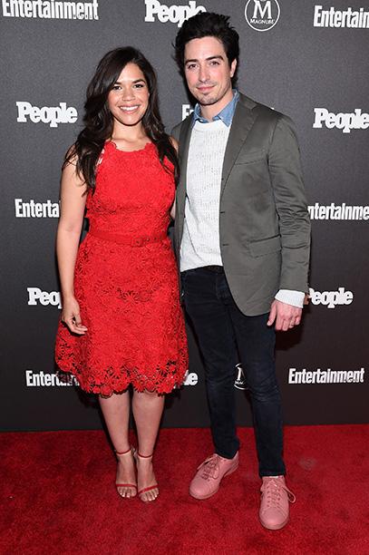 America Ferrera and Ben Feldman