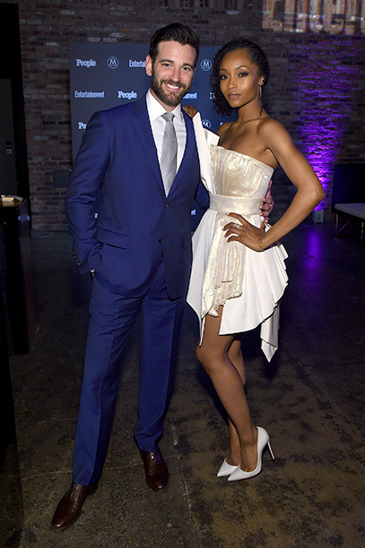 Colin Donnell and Yaya DaCosta