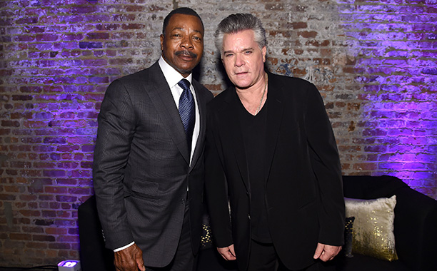 Carl Weathers and Ray Liotta