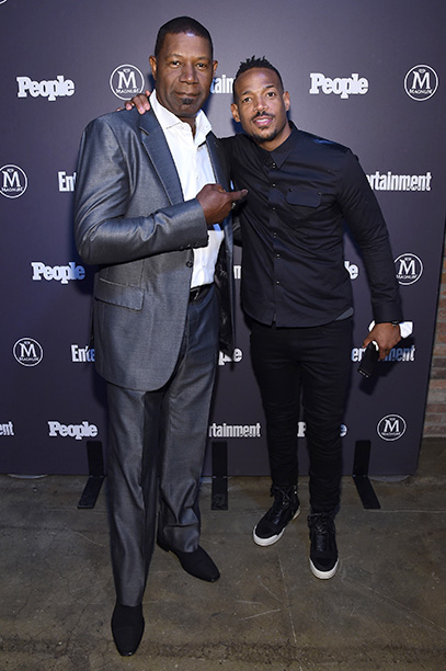 Dennis Haysbert and Marlon Wayans