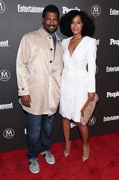 Deon Cole and Tracee Ellis Ross
