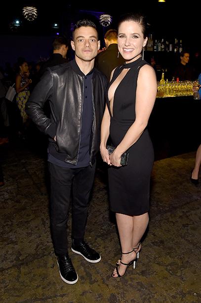 Rami Malek and Sophia Bush