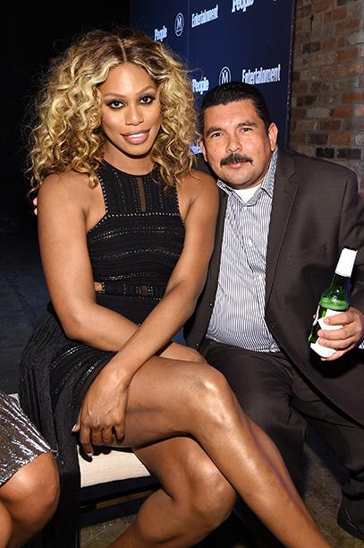 Laverne Cox and Guillermo