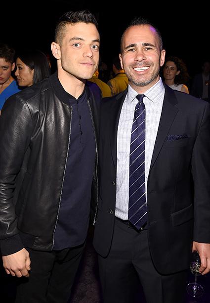 Rami Malek and Henry Goldblatt