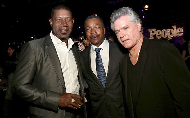 Dennis Haysbert, Carl Weathers, and Ray Liotta