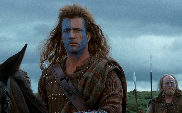 Chronicling the indomitable spirit of William Wallace (played by director Mel Gibson), who became the blue-striped face of the resistance in the First War of…