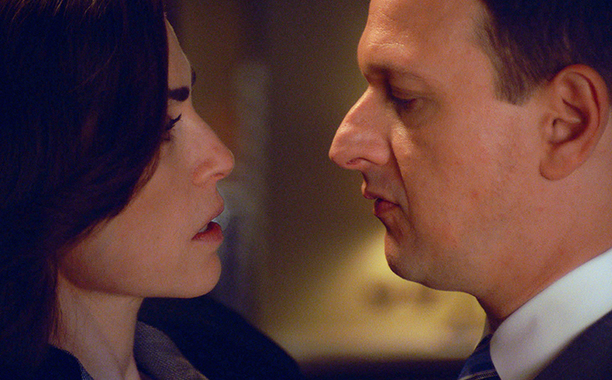 "Alicia and Will in ""End"" on The Good Wife"
