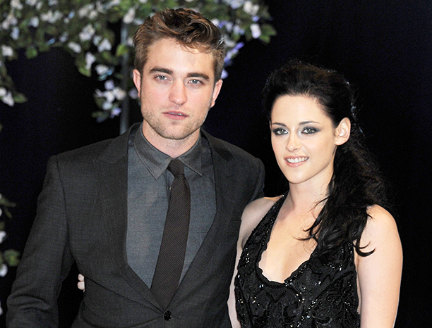 Robert Pattinson With Kristen Stewart at the UK Premiere of The Twilight Saga: Breaking Dawn Part 1 on November 16, 2011