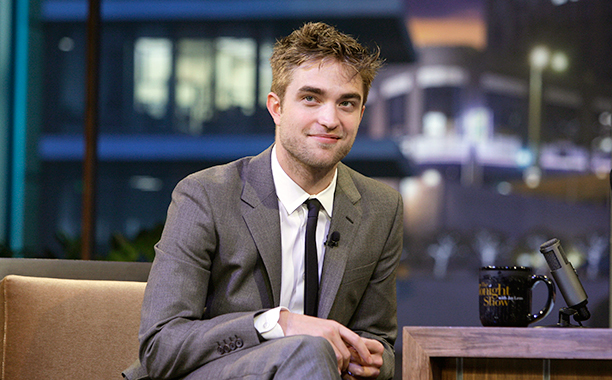 Robert Pattinson on The Tonight Show with Jay Leno on June 15, 2010