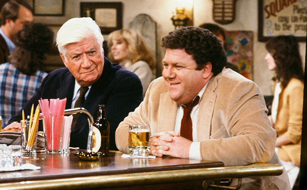 Tip O'Neil on Cheers in 1983