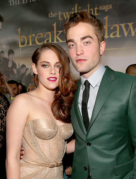 Robert Pattinson With Kristen Stewart at the Los Angeles Premiere of The Twilight Saga: Breaking Dawn - Part 2 on November 12, 2012