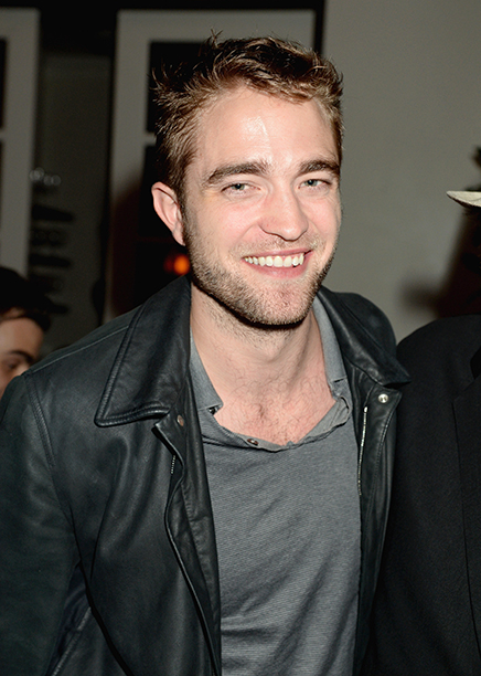 Robert Pattinson in Beverly Hills, Calif. on October 22, 2013