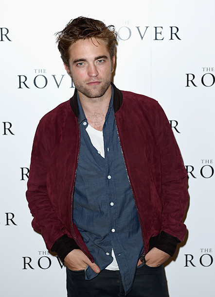 Robert Pattinson in London for The Rover on August 6, 2014