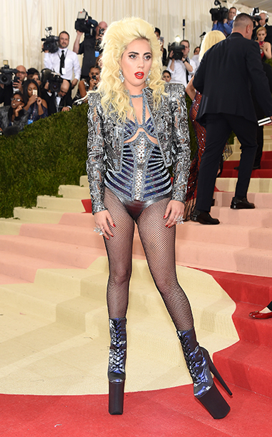 MOST OUTRAGEOUS: Lady Gaga