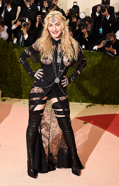 MOST OUTRAGEOUS: Madonna