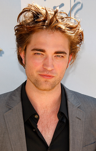 Robert Pattinson at the 17th Annual MTV Movie Awards on June 1, 2008