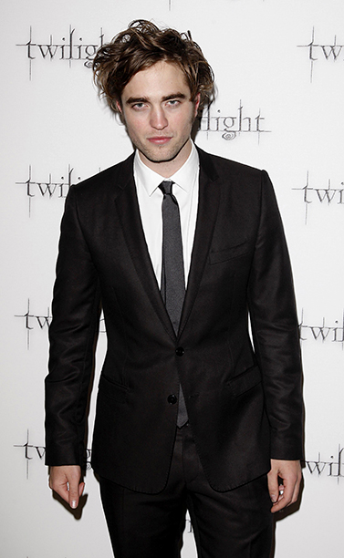 Robert Pattinson at the London Premiere of Twilight on December 3, 2008