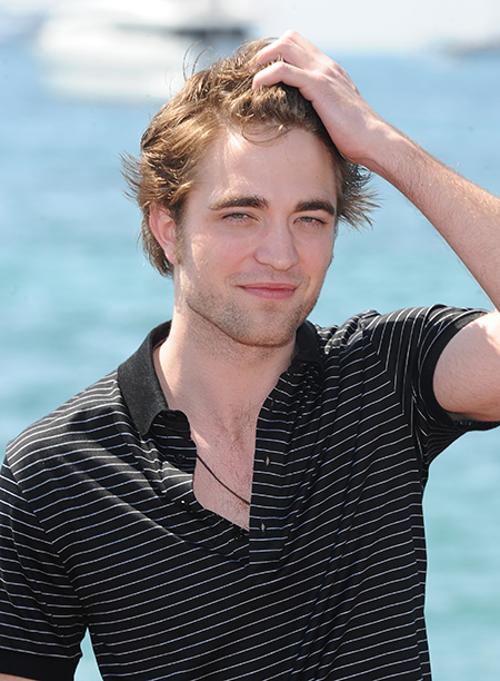 Robert Pattinson at the 62nd Annual Cannes Film Festival on May 19, 2009