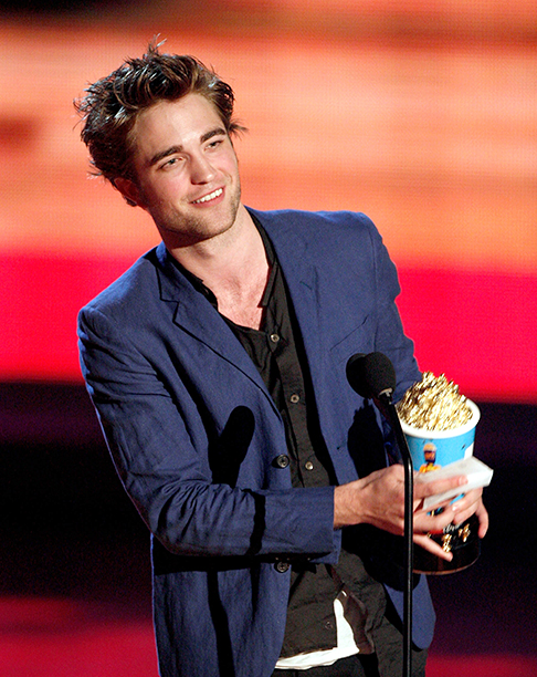 Robert Pattinson at the 18th Annual MTV Movie Awards on May 31, 2009