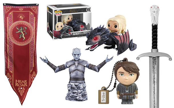 All the 'Game of Thrones' merchandise you could dream of