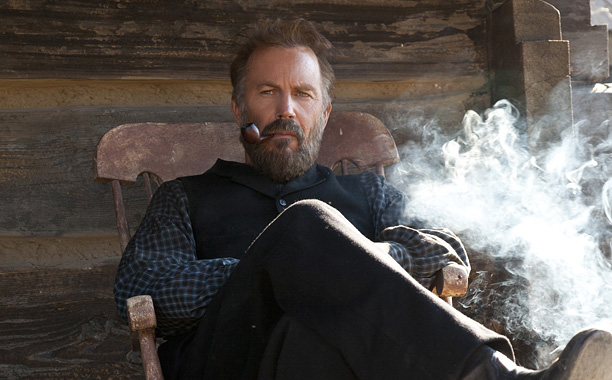 Detailing the 28-year backwater feud between two American families, the 286-minute miniseries gives faces and texture to storied patriarchs Hatfield (Kevin Costner, shown) and McCoy…